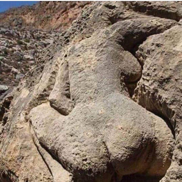 علامت زن لخت در گنج یابی